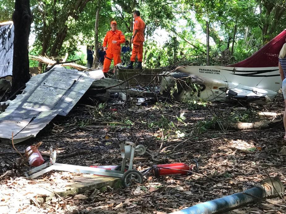 Avião particular fretado pelo Exército cai no interior de RR e quatro morrem, diz Defesa Civil