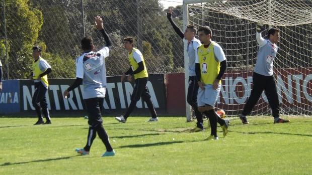 treino do vitória em curitiba (Foto: Divulgação/Site oficial EC Vitória)
