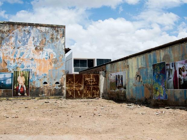 Intervenção foi feita em prédio de antiga boate do bairro Aparecida, zona Norte da capital (Foto: Divulgação)