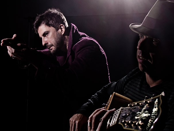 Gustavo Rodrigues e Márcio Tinoco em 'Billdog' (Foto: Marcelo Faustini)