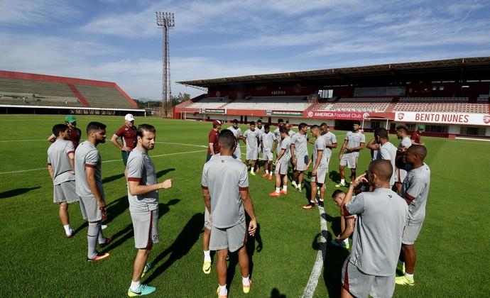 Treino Fluminense Edson Passos (Foto: Mailson Santana/Fluminense FC)