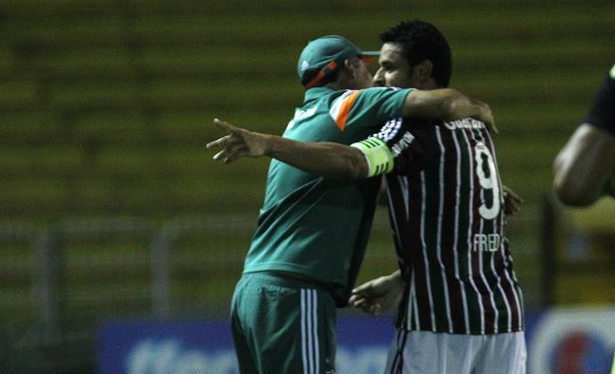 eduardo, fred, fluminense (Foto: Nelson Perez/Fluminense FC)