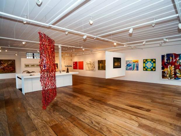 Exposição Art Paraty - Coletiva Ateliês do Centro Histórico  (Foto: Divulgação/Facebook Casa da Cultura de Paraty)