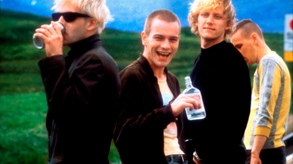 Os atores de 'Trainspotting', 20 anos atrás (Foto: Divulgação)