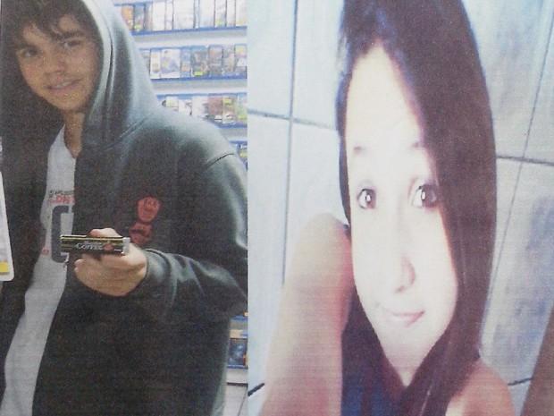 Mateus e Kelly são namorados e desapareceram  (Foto: Arquivo Pessoal/Cristiane dos Santos)