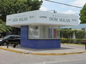Hospital Dom Malan IMIP Petrolina (Foto: Amanda Franco/ G1)