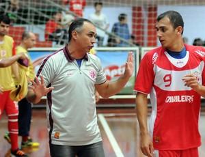 Udenis Oliveira, técnico do América-RN de futsal (Foto: Luciano Bergamaschi/CBFS)