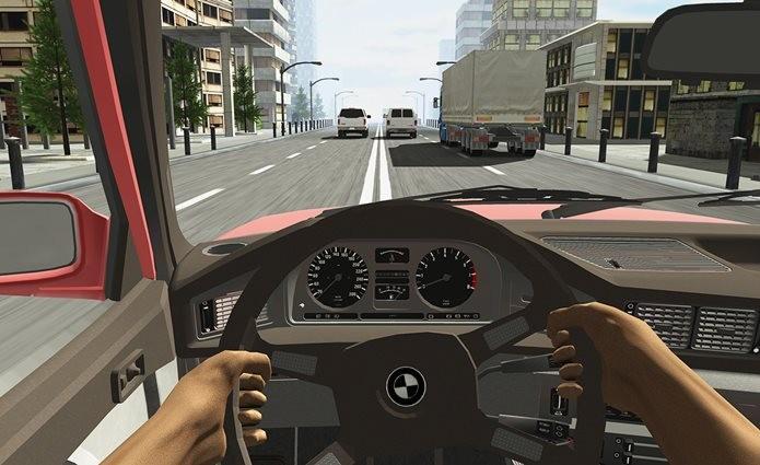 Racing a Car, dirija como um louco neste jogo para iPhone e iPad (Foto: Divulgação / Caner Kara)