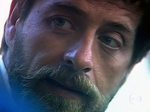 Ator na pele do misterioso Raul (Foto: Vídeo Show / TV Globo)