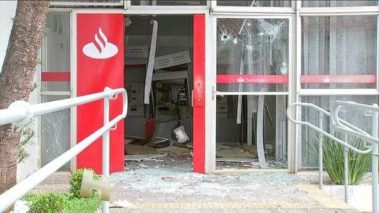 Explosões em todos os bancos de Pilar do Sul assustam moradores e causam transtornos