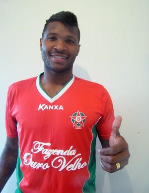 Fabiano Alves volante Boa Esporte (Foto: Edimar Mariano / Divulgação Boa Esporte)