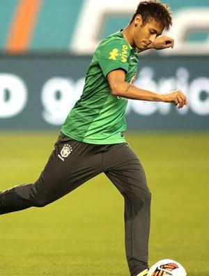 Neymar Treino Seleção Brasileira (Foto: Mowa press)