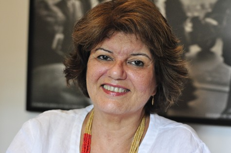 Elizabeth Jhin: sua novela deve ir ao ar no segundo semestre de 2014 (Foto: Estevam Avellar/ TV Globo)