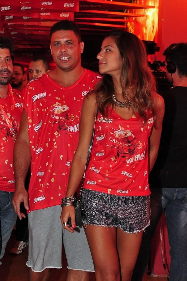 Ronaldo e a namorada, Paula (Foto: Roberto Teixeira/EGO)