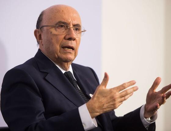 O ministro da Fazenda Henrique Meirelles (Foto:  Lino Mirgeler/dpa/AFP)