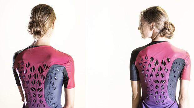 MIT cria roupa de ginástica que esfria o corpo quando  você sua (Foto: Divulgação)