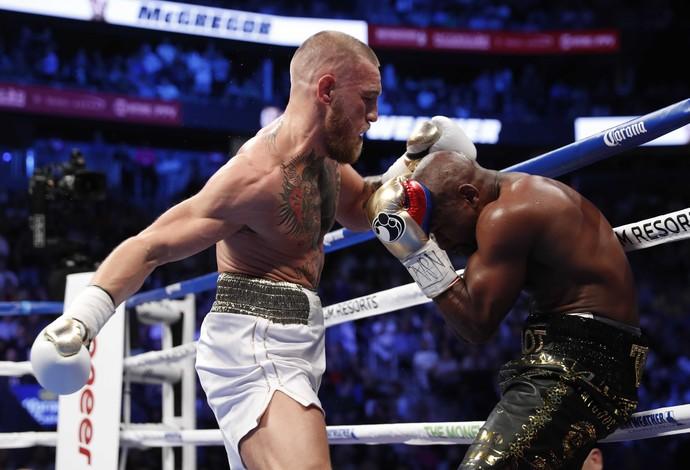 Floyd Mayweather Jr. vs Conor McGregor boxe (Foto: Steve Marcus/Reuters)