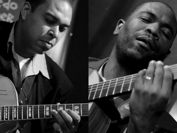 Duo Instrumental formado por Giliade Lima e Gilson Oliveira  (Foto: Cris Costa/Divulgação Giliade Lima)