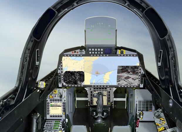 Proje Gripen prevê a fabricação de caças para a FAB com transferência de tecnologia - Foto: SAAB