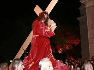 Imagem Senhor dos Passos Procissão Encontro Juiz de Fora (Foto: Assessoria de Comunicação Arquidiocese JF/ Divulgação)