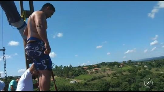 Socorrista resgatou homem após bungee jump com vida, diz delegada