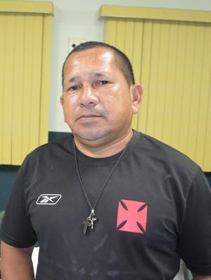 Renato Machado, o Lobinho, diretor de futebol do Vasco-AC (Foto: Duaine Rodrigues)