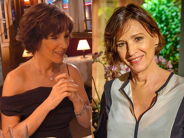 Dez anos separam as duas Natálias do Vale da foto! Acreditam?  (Foto: Divulgação TV Globo)