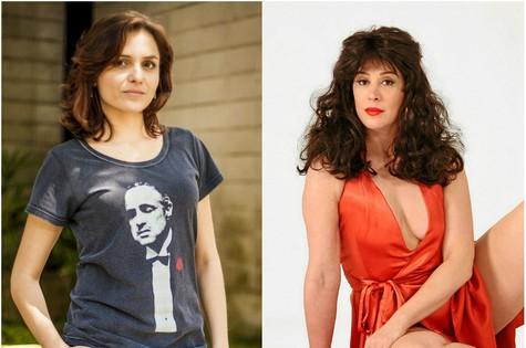 Monica Iozzi vai interpretar Tancinha, papel que foi de Claudia Raia em 1987 (Foto: TV Globo/Arquivo)