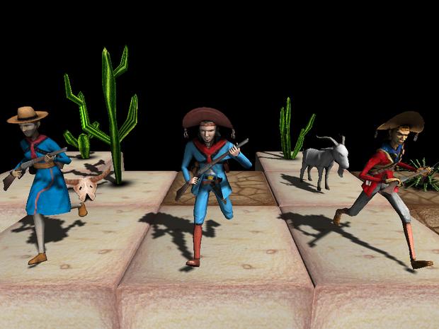 Jogo de estratégia em tempo real conta com disputa entre cangaceiros e volantes (Foto: Sertão Games)