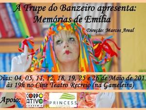 Memórias de Emília (Foto: Divulgação)