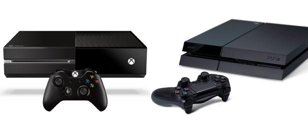 PlXbox One (à esq.) e o PlayStation 4 são os novos integrantes da nova geração de videogames (Foto: Divulgação/Sony/Microsoft)