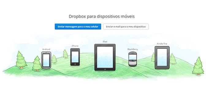 Dropbox tem versões para mais plataformas (Foto: Reprodução/Paulo Alves) (Foto: Dropbox tem versões para mais plataformas (Foto: Reprodução/Paulo Alves))