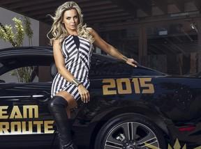 Veridiana Freitas em campanha (Foto: Dream Route 2015 / Divulgação)