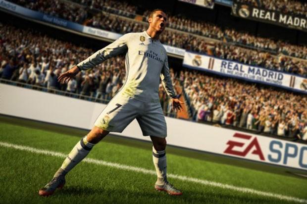 Cristiano Ronaldo no novo FIFA (Foto: Divulgação)