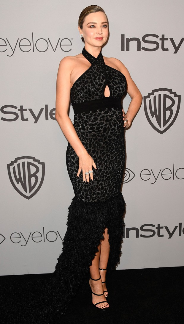 BEVERLY HILLS, CA - JANUARY 07:  Model Miranda Kerr attends 19th Annual Post-Golden Globes Party hosted by Warner Bros. Pictures and InStyle at The Beverly Hilton Hotel on January 7, 2018 in Beverly Hills, California.  (Photo by Frazer Harrison/Getty Imag (Foto: Getty Images)