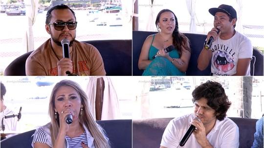 Aduílio Mendes, Taty Girl, Pé de Ouro e Maurício Jorge cantam sucessos
