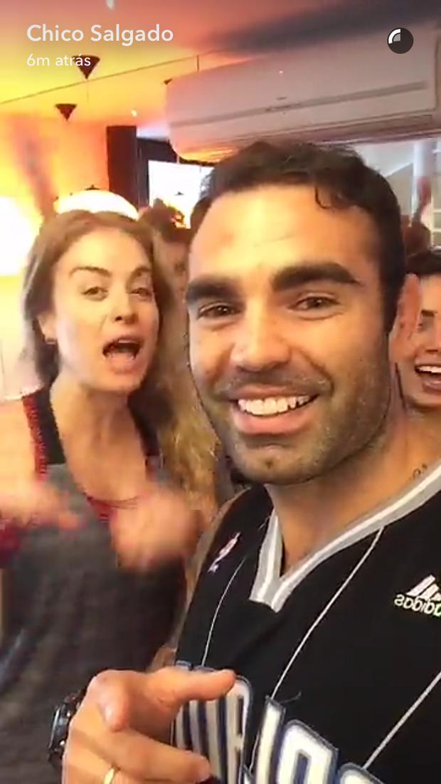 Angelica e Chico Salgado (Foto: Reprodução/Instagram)