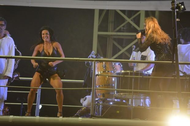 Scheila Carvalho e Ivete Sangalo (Foto: Felipe Souto Maior/Ag.News)