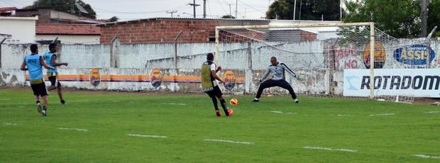 warley, atacante do botafogo-pb, botafogo-pb, w9, Campeonato Brasileiro, Série D, Paraíba, reserva (Foto: Richardson Gray / Globoesporte.com/pb)