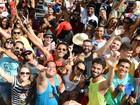 30 mil foliões curtiram blocos no Centro (Bernardo Coutinho/ A Gazeta)