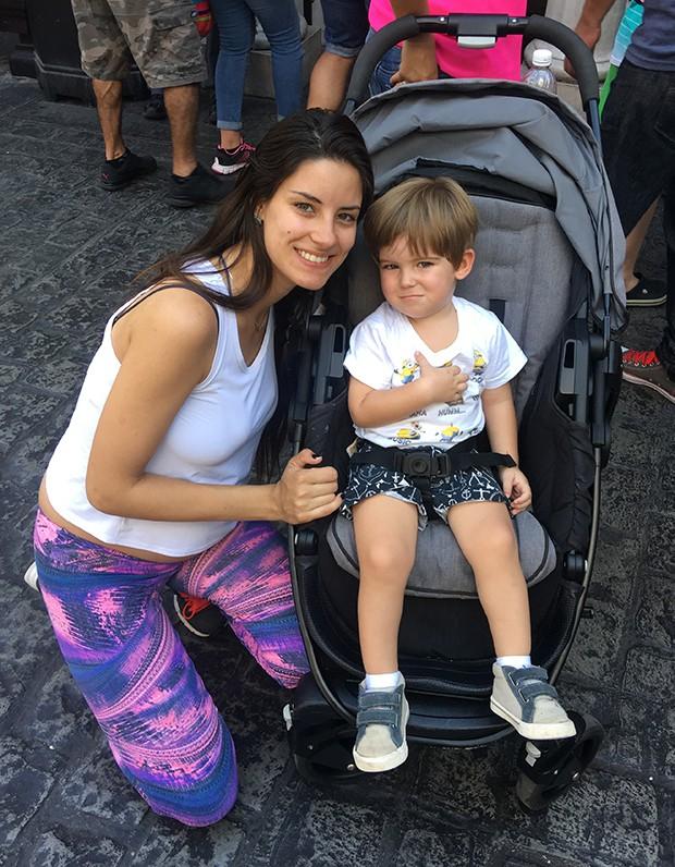 Thayra Machado e Davi (Foto: Arquivo pessoal)