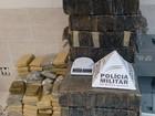 PM apreende mais de 440 quilos de droga em imóveis em Juiz de Fora