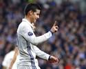 """Zidane valoriza James antes de pegar o Valencia: """"Quando entra joga bem"""""""