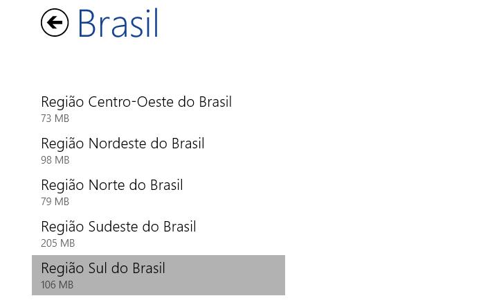 Escolha a região do Brasil (Foto: Reprodução/Helito Bijora)