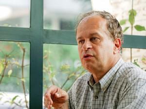 Renato Janine Ribeiro durante entrevista em São Paulo, em junho de 2005