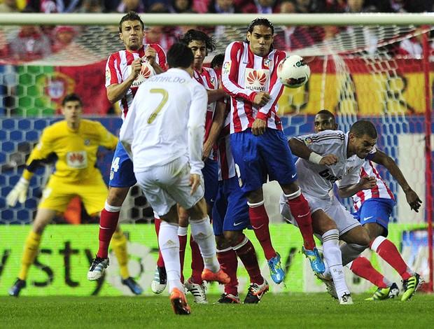 Cristiano Ronaldo - Atletico de Madri x Real Madrid (Foto: AFP)