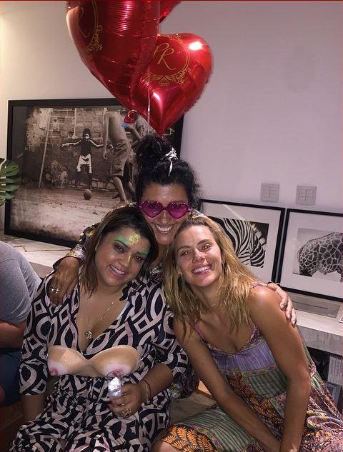 Preta Gil, Regina Casé e Carolina Dieckman (Foto: Instagram / Reprodução)