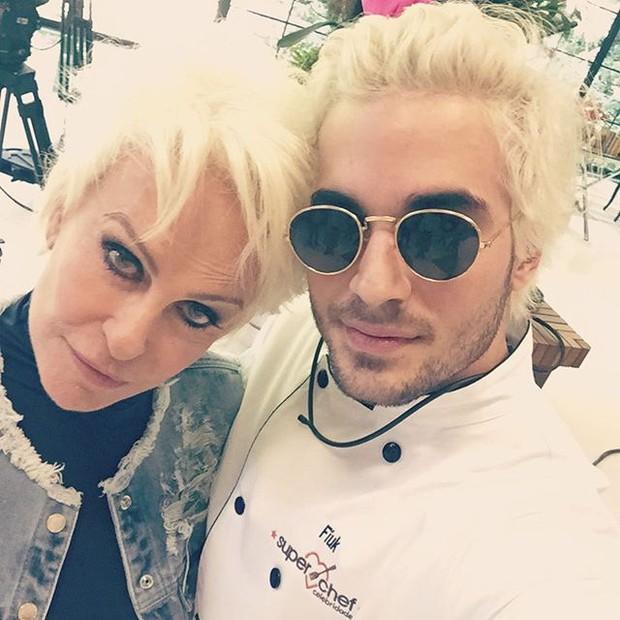Ana Maria Braga e Fiuk (Foto: Reprodução/Instagram)