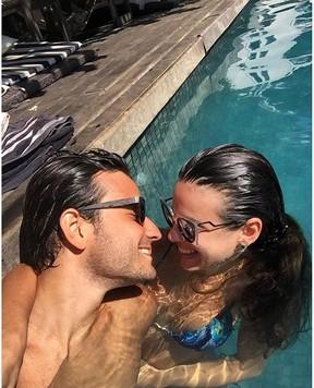 Sthefany Brito e o namorado (Foto: Reprodução/ Instagram)