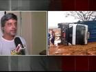 Chuva, ventos fortes e granizo causam estragos e morte no interior de SP